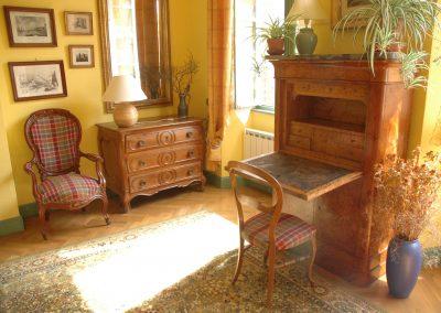 Chambre de l'écrivain - Chambres d'hôtes - bureau - Les Chambres d'hôtes - Gers