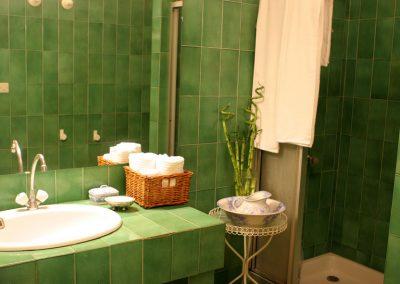 Chambre de l'écrivain - Chambres d'hôtes -Salle de bain