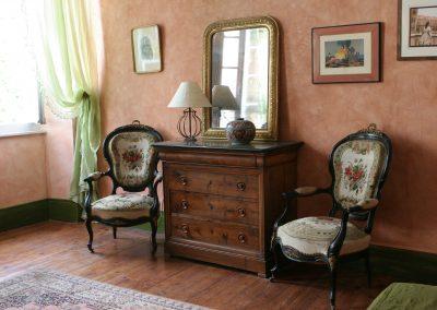 Chambre Marie Rose - Chambres d'hôtes Lombez -Mobilier