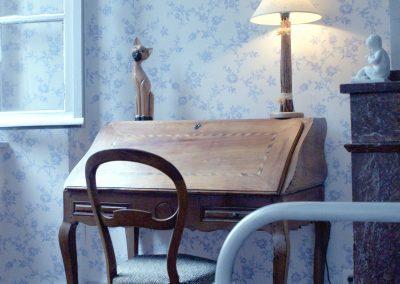 Chambre du parc - Chambres d'hôtes Lombez - chambre bleu