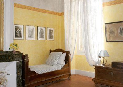 Chambre du Maire - Chambres d'hôtes Lombez chmbr jaune