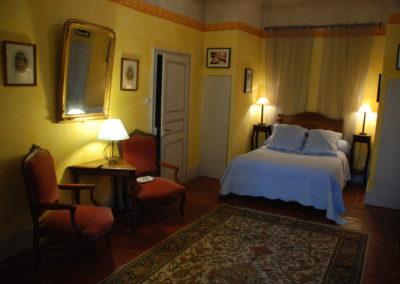 Chambre du Maire - Chambres d'hôtes Lombez - Chambre grande vue