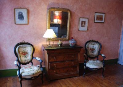 Chambre Marie Rose - Chambres d'hôtes Lombez - Décoration bureau